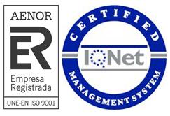 Conservera Certificada ISO 9001