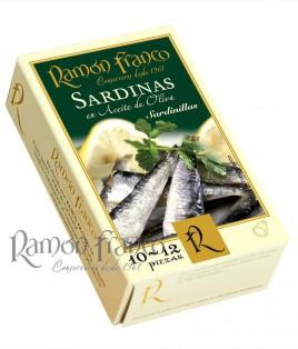 Sardinillas 10/12 piezas en aceite de oliva