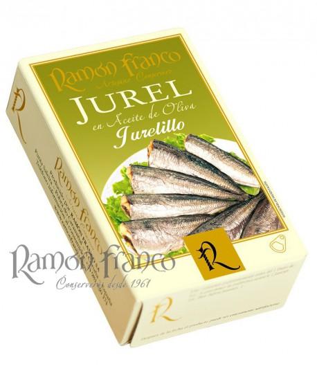 Jurel 8/10 piezas en aceite de Oliva